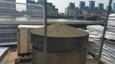 Millbank Pier (with MI5 in the background)
