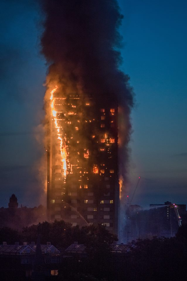 #Grenfell survivor 'only passed 8 people on stairs all the way from upper floor'