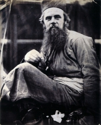 William Holman Hunt in his Eastern Dress by Julia Margaret Cameron, 1864