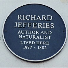 The Plaque at RJ's house in Ewell Road, Tolworth